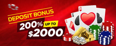 First Deposit Bonus 200%