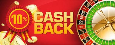 10% Cashback