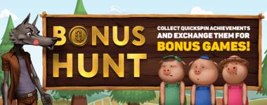Полювання на бонуси Quickspin