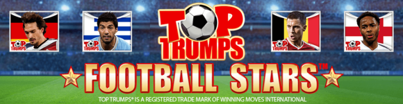 Top Trumps Football Stars Speed Poker